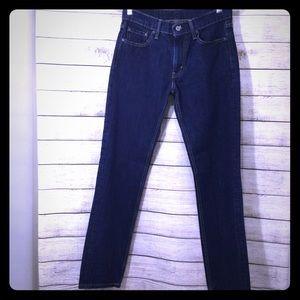 Levi Strauss  511 Slim Fit Dark Wash Jeans 30x32